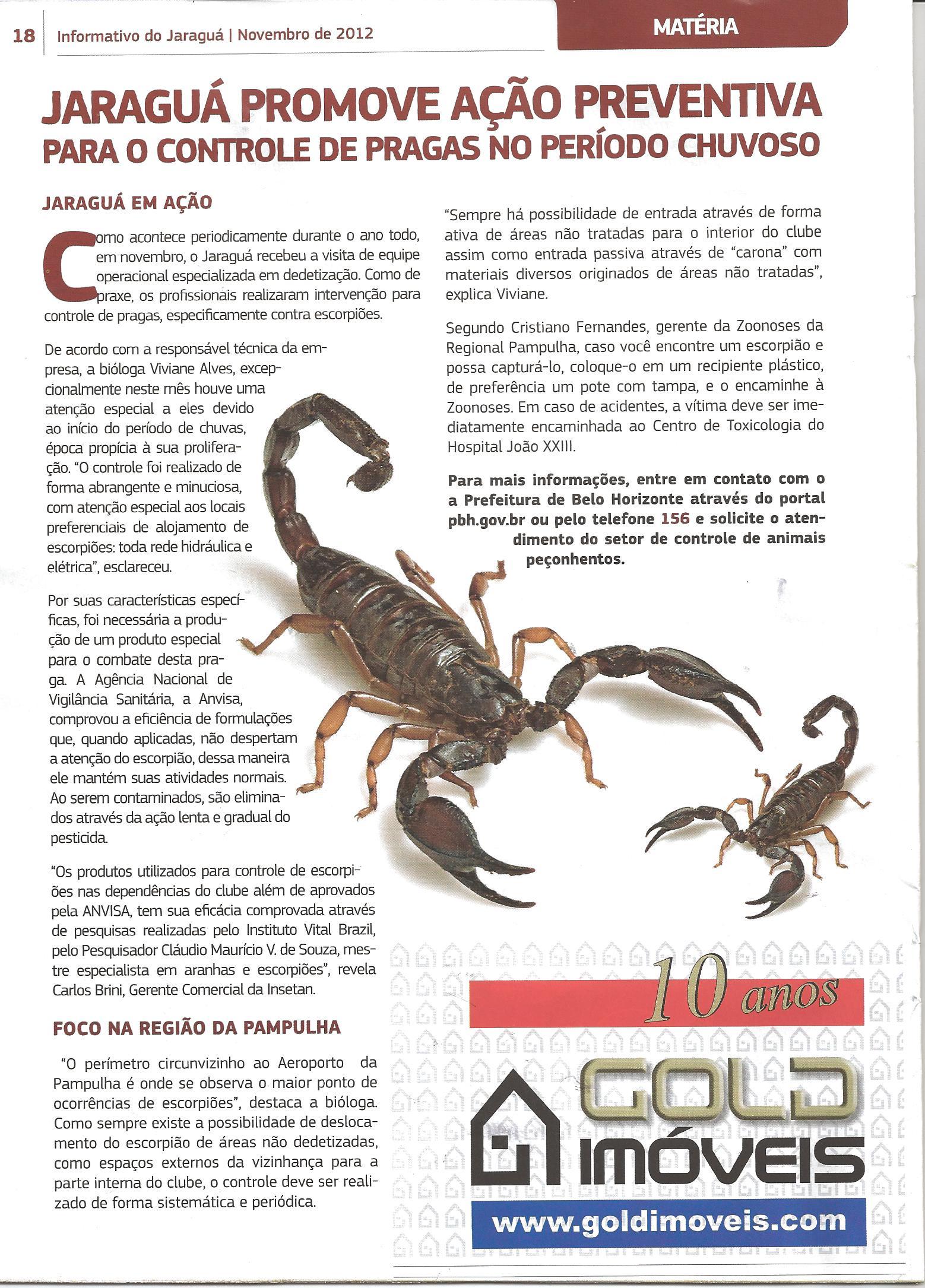 Revista-Jaragua-nov2012 Jaraguá promove ação preventiva para o controle de pragas no período chuvoso Prevenções