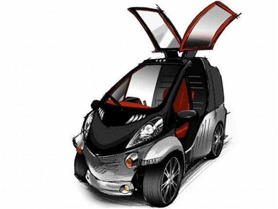 prototipo Toyota faz protótipo inspirado em inseto Papo de Praga