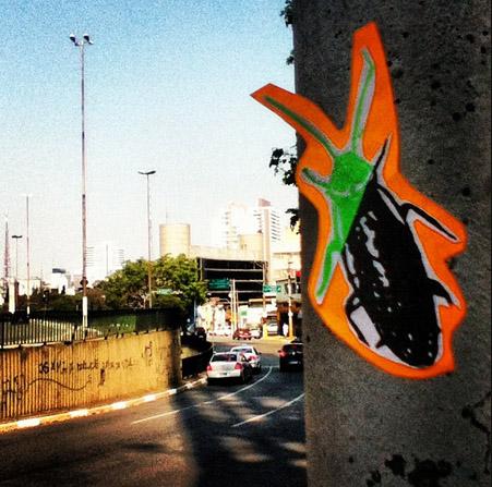 baratas Intervenção artística com baratas invade capitais brasileiras Papo de Praga