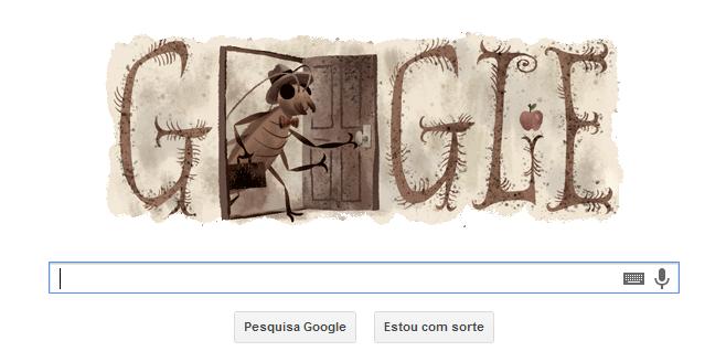 doodle_kafka Google faz homenagem a Franz Kafka Papo de Praga