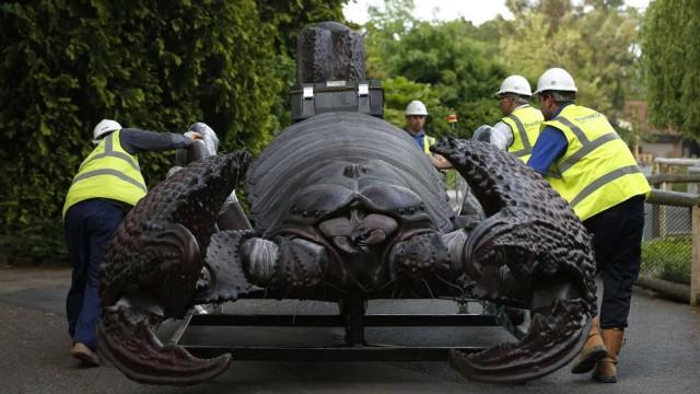 escorpiao_gigante Insetos gigantes atraem turistas na Inglaterra Papo de Praga