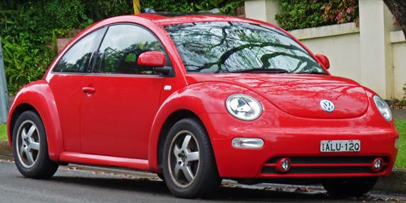 new_beetle Um besouro sobre quatro rodas Papo de Praga