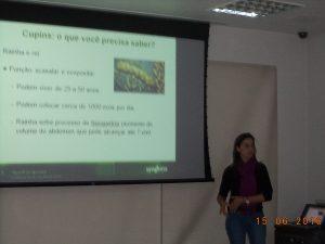 Edna-300x225 Treinamento e Reciclagem Sentricon para a equipe específica de cupins Descupinização Dicas Dúvidas Notícias Pragas tecnologia de controle de pragas